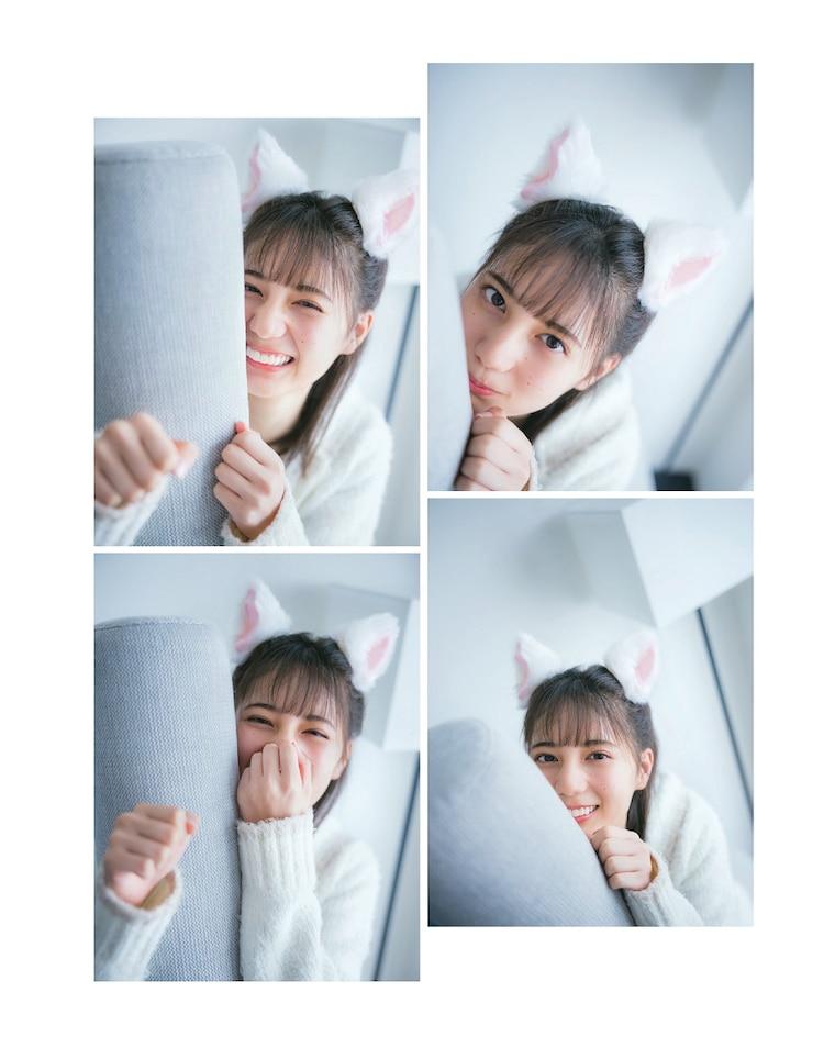 日向坂46小坂菜緒戴著貓耳模樣的照片搶先公開!