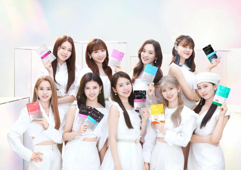NiziU新面膜廣告公開!CM曲為新曲《Twinkle Twinkle》