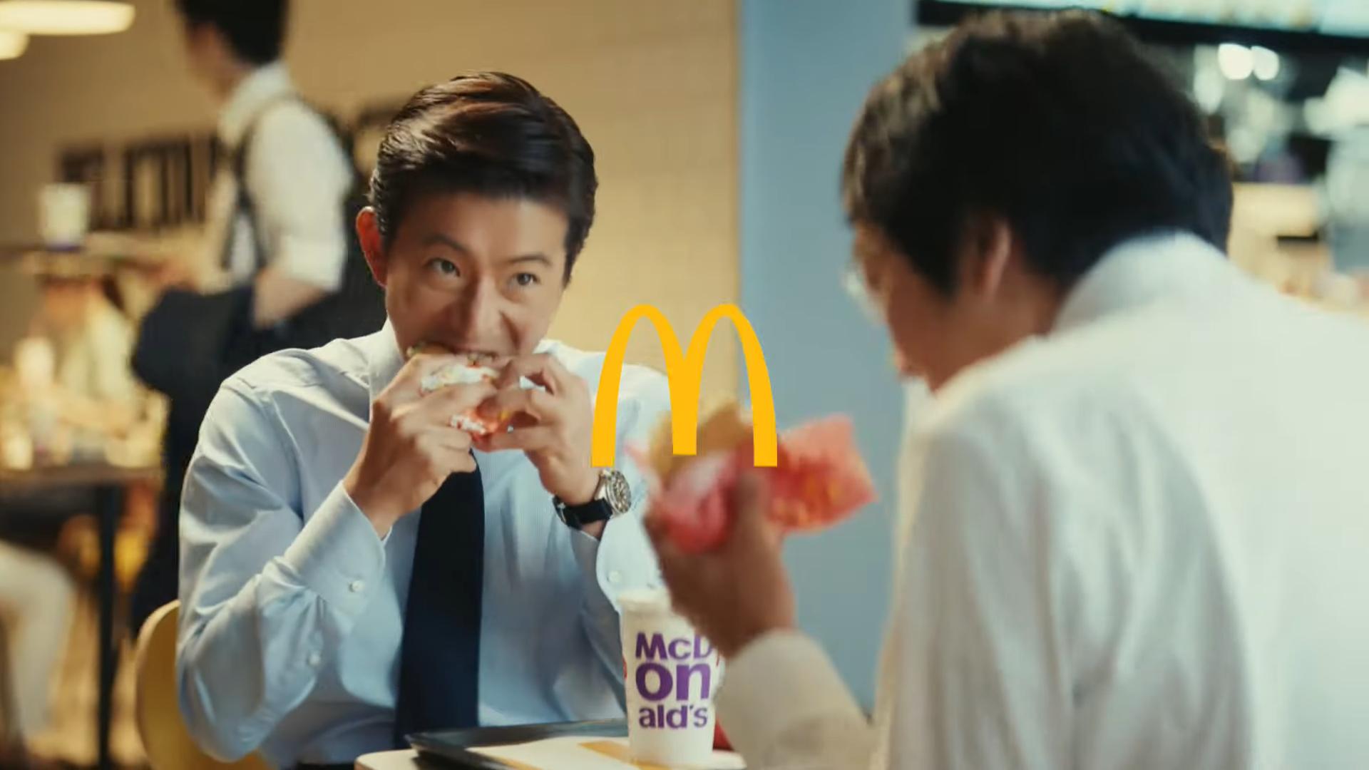 木村拓哉代言麥當勞拍攝新廣告 導演嚴苛要求竟重拍32次