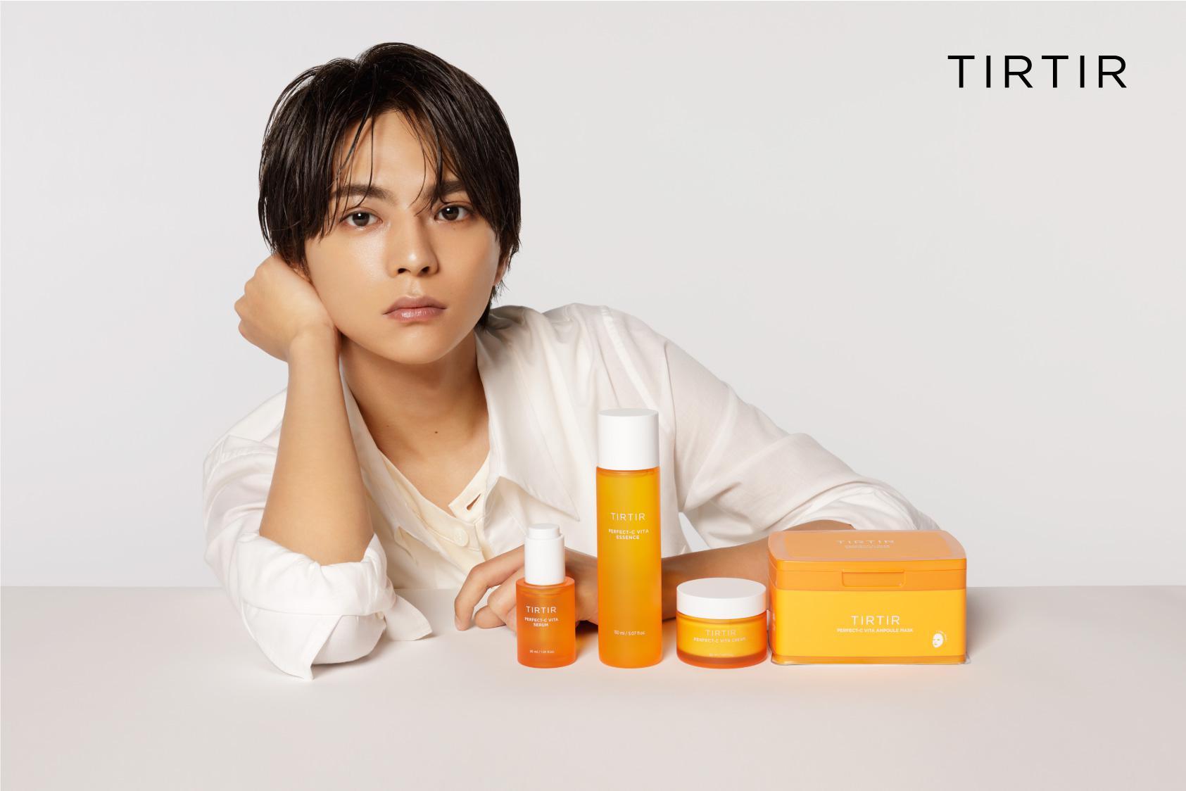 佐藤勝利代言韓國化妝品「TIRTIR」拍攝新廣告 彈奏吉他之姿令粉絲著迷