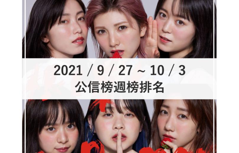 【公信榜】AKB48首週登場奪冠 更新自身紀錄!【2021/9/27~10/3】